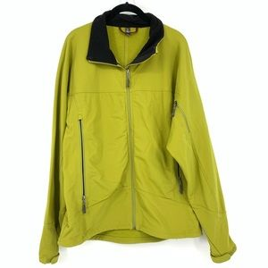 Ibex Climbawool Soft Shell Jacket Green Merino